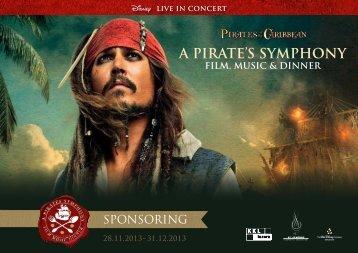 Sponsoring Mappe - Pirates Symphony