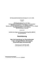 Psychotherapievereinbarung -Primärkassen (PDF) - psychotherapie 1