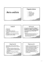 Meta-análisis - Web de Ferran Torres