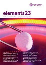 elements 23 - Evonik