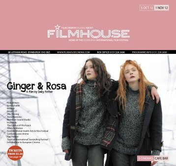 Ginger & Rosa - Filmhouse Cinema Edinburgh