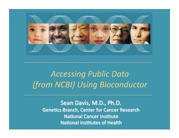 Overview talk - Bioconductor