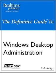 Windows Desktop Administration - The Trainer Guy