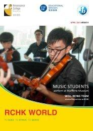 rchk world april 2013 - Renaissance College