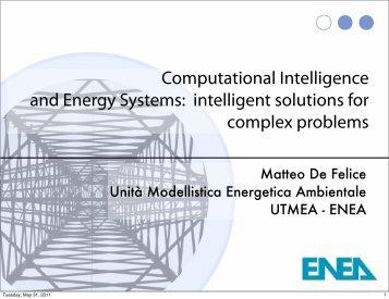 Computational Intelligence and Energy Systems: intelligent ...