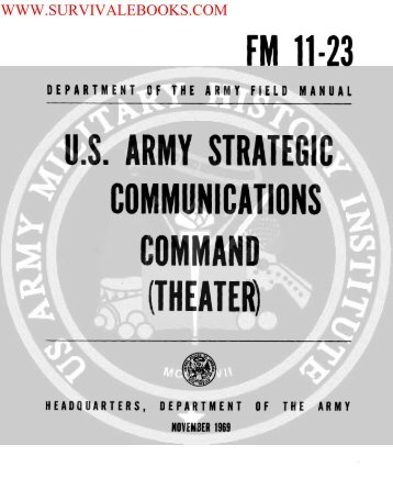 ( US Army Strategic Communications Command ... - Survival Books