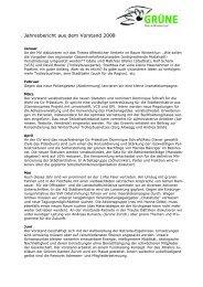 Jahresbericht 08 - Grüne Winterthur