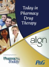 Drug Therapy Insert PDF - American Pharmacists Association