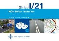 Silnice I/21 MÚK Střížov–Horní Ves - Ředitelství silnic a dálnic