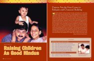 Raising Children As Good Hindus - Hinduism Today Magazine