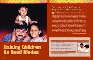 Raising Children As Good Hindus - Hinduism Today Magazine