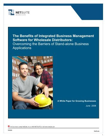 The Benefits of Integrated Business Management Software - NetSuite