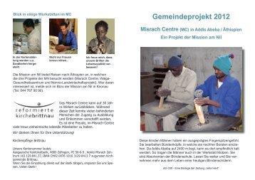 Gemeindeprojekt 2012 - Reformierte Kirche Brittnau