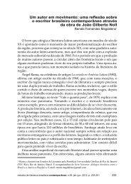 revista 39 emendada.indd - Grupo de Estudos em Literatura ...