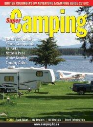 british columbia's rv adventure & camping guide 2011 - Cariboo ...