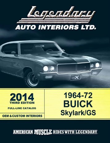 I1 - Legendary Auto Interiors, Ltd.