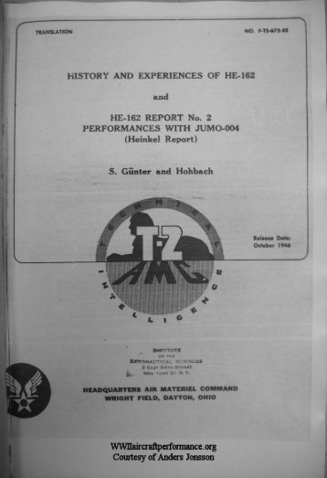 History and Experiences of He-162 , HE-162 - WWII Aircraft ...