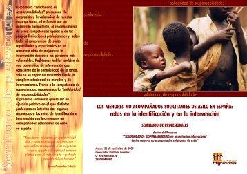 menores solicitantes de asilo en españa - Universidad Pontificia ...