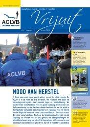 Vrijuit, editie maart 2013 - Aclvb