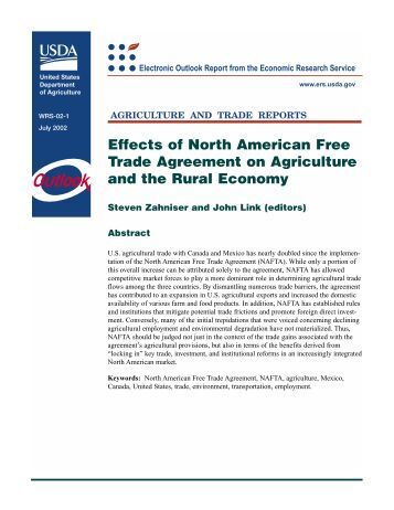 """an analysis of the effectiveness of the north american free trade agreement Buchanan on the north american free trade agreement: """"two years after  nafta,  nafta has been modestly beneficial for the us economy, even  though mexico's  moral hazard, and market solutions,"""" cato institute policy  analysis no."""