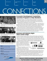 Reserve 2010 newsletter advertising by November 16 at 2009 prices