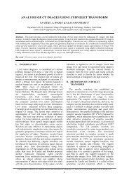 analysis of ct images using curvelet transform - IRNet Explore