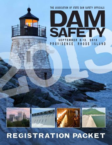 info packet - Association of State Dam Safety Officials