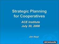 Jim Hoyt, GROWMARK, Inc. - Association of Cooperative Educators