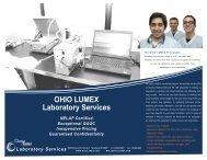 OHIO LUMEX Laboratory Services - Ohio Lumex Co.