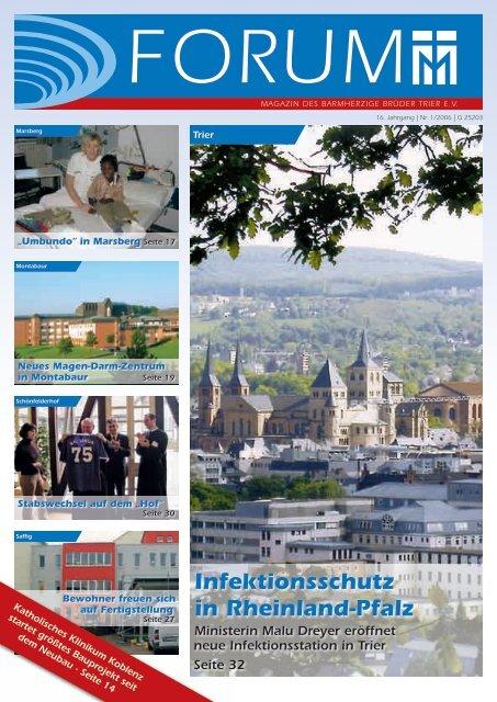 Infektionsschutz in Rheinland-Pfalz - Barmherzige Brüder Trier e. V.