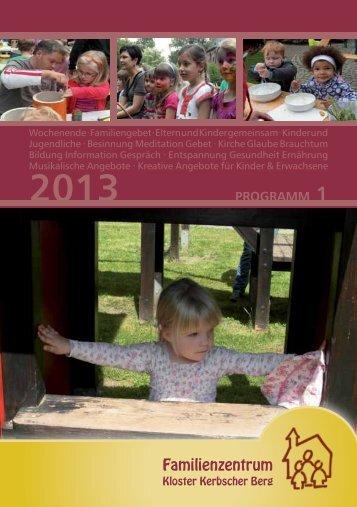 Kursprogramm I/2013