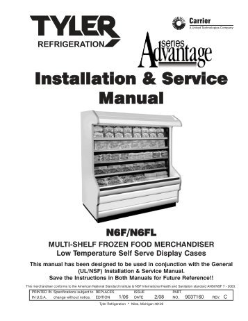 installation service manual ism a5fgn t hillphoenix rh yumpu com Tyler Cases Refrigeration Loads Tyler Cases Refrigeration Loads