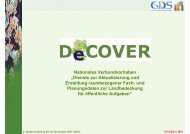 IPI /GDS © 2007 2. Nutzerworkshop 29.-30. November ... - DeCOVER