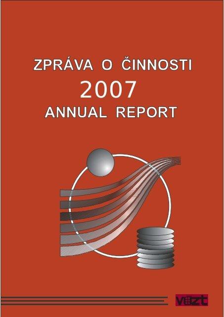 Zpráva o činnosti v roce 2007 (16MB) - SVT