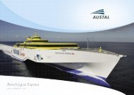 Benchijigua Express Book - Austal Ships