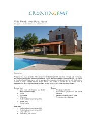 Villa Fendi, near Pula, Istria - CroatiaGems