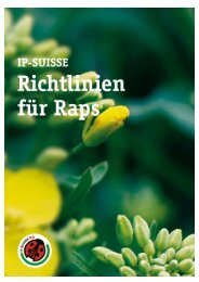 Richtlinien Raps IP-SUISSE Juni 2009 IP-SUISSE Seite 1