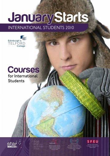 english language courses - Edinburgh's Telford College