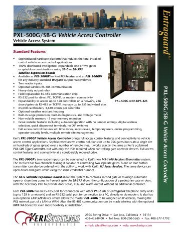 pxl 500g sb g vehicle access controller keri systems?quality\=85 keri access control wiring diagram keri pxl 500 reset \u2022 indy500 co Magnetic Door Locks Access Control at creativeand.co