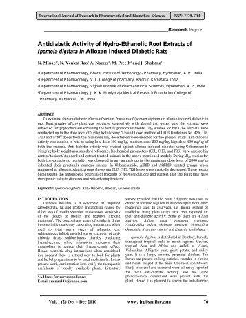 Antioxidant activity of psidium guajava leaves