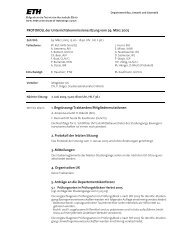 Sitzung 2/05 vom 29.03.05 - Departement Bau, Umwelt und Geomatik