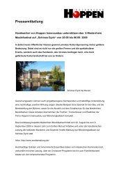 Pressemitteilung - Hoppen Innenausbau GmbH