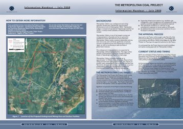July 2008 Project Information Leaflet - Peabody Energy