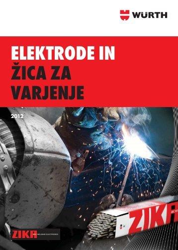Oplaščene elektrode