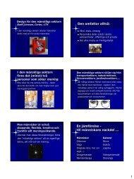 Design för den mänskliga sektorn (pdf 165kb) - Certec