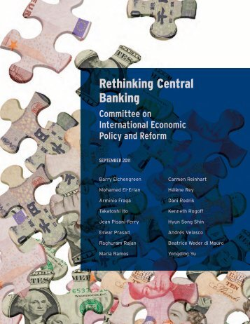 Rethinking Central Banking - Brookings Institution