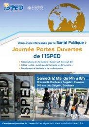 Flyer de la journée Porte Ouverte 2012 - Université Bordeaux Segalen