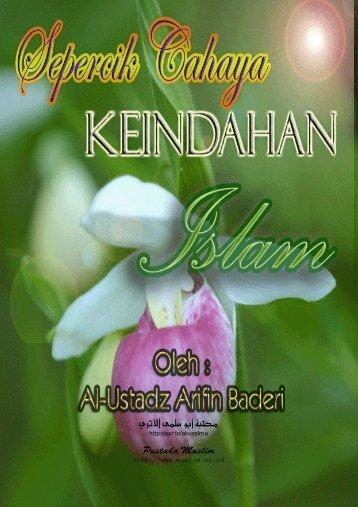 Sepercik Cahaya Keindahan Islam – Ustadz Arifin Badri.pdf