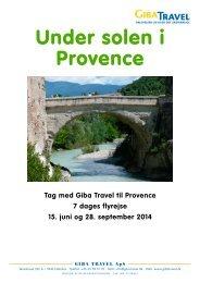 Se hele rejseprogrammet - GIBA Travel