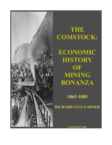 the comstock: economic history of mining bonanza - Inside My Desk